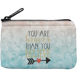 Inspirational Quotes Rectangular Coin Purse (Personalized)