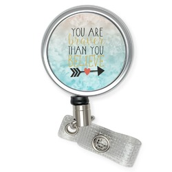 Inspirational Quotes Retractable Badge Reel (Personalized)