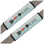 Inspirational Quotes Seat Belt Covers (Set of 2)