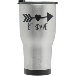 Inspirational Quotes RTIC Tumbler - Silver (Personalized)