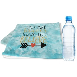 Inspirational Quotes Sports Towel (Personalized)