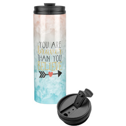 Inspirational Quotes Stainless Steel Tumbler (Personalized)