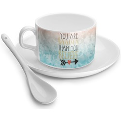 Inspirational Quotes Tea Cup - Single (Personalized)