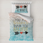 Inspirational Quotes Toddler Bedding