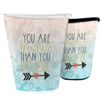 Inspirational Quotes Waste Basket (Personalized)