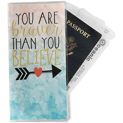 Inspirational Quotes Travel Document Holder