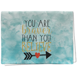 Inspirational Quotes Waffle Weave Kitchen Towel - Full Print