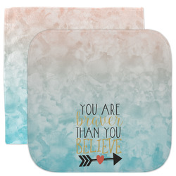 Inspirational Quotes Facecloth / Wash Cloth