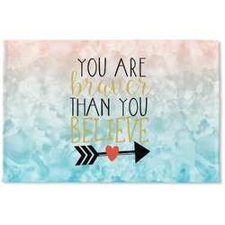 Inspirational Quotes Woven Mat (Personalized)