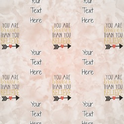Inspirational Quotes Wrapping Paper (Personalized)