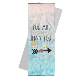 Inspirational Quotes Yoga Mat Towel (Personalized)