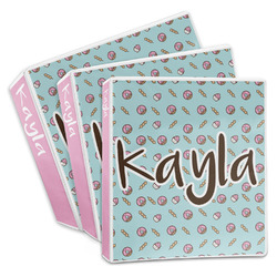 Donuts 3-Ring Binder (Personalized)