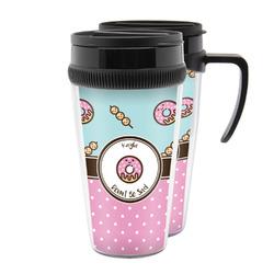 Donuts Acrylic Travel Mugs (Personalized)