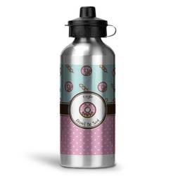 Donuts Water Bottle - Aluminum - 20 oz (Personalized)