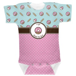 Donuts Baby Bodysuit 6-12 (Personalized)