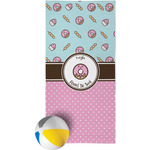 Donuts Beach Towel (Personalized)