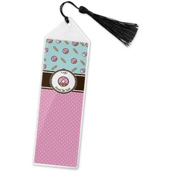 Donuts Book Mark w/Tassel (Personalized)