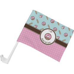 Donuts Car Flag (Personalized)