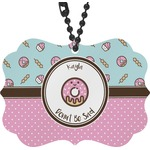 Donuts Rear View Mirror Decor (Personalized)