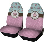 Donuts Car Seat Covers (Set of Two) (Personalized)