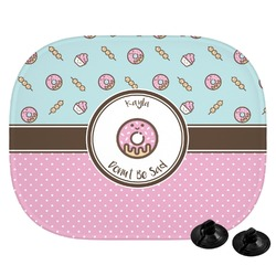 Donuts Car Side Window Sun Shade (Personalized)