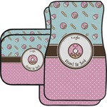 Donuts Car Floor Mats (Personalized)