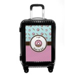 Donuts Carry On Hard Shell Suitcase (Personalized)
