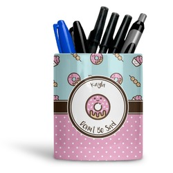 Donuts Ceramic Pen Holder