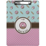 Donuts Clipboard (Personalized)