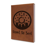 Donuts Leatherette Journal (Personalized)