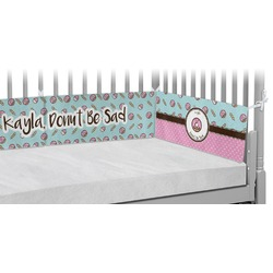 Donuts Crib Bumper Pads (Personalized)