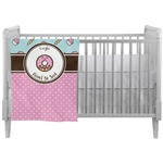 Donuts Crib Comforter / Quilt (Personalized)