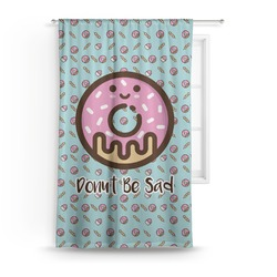 "Donuts Curtain - 50""x84"" Panel (Personalized)"