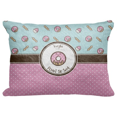 """Donuts Decorative Baby Pillowcase - 16""""x12"""" (Personalized)"""