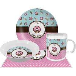 Donuts Dinner Set - 4 Pc (Personalized)