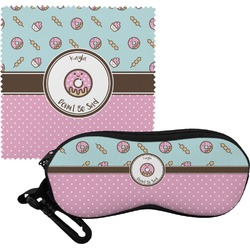 Donuts Eyeglass Case & Cloth (Personalized)
