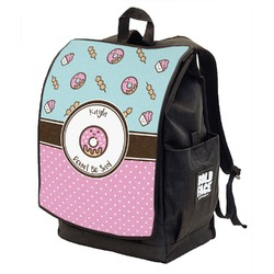 Donuts Backpack w/ Front Flap  (Personalized)