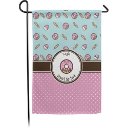 Donuts Garden Flag - Single or Double Sided (Personalized)