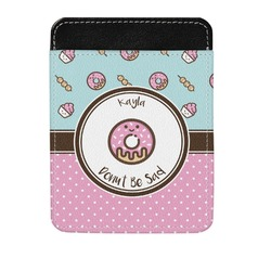 Donuts Genuine Leather Money Clip (Personalized)