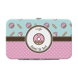 Donuts Genuine Leather Small Framed Wallet (Personalized)