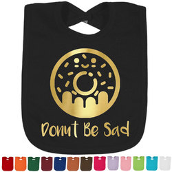 Donuts Foil Toddler Bibs (Select Foil Color) (Personalized)
