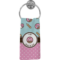 Donuts Hand Towel - Full Print (Personalized)
