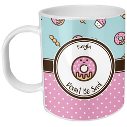 Donuts Plastic Kids Mug (Personalized)