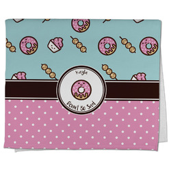 Donuts Kitchen Towel - Full Print (Personalized)