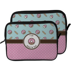 Donuts Laptop Sleeve / Case (Personalized)