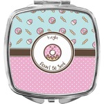Donuts Compact Makeup Mirror (Personalized)
