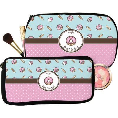 Donuts Makeup / Cosmetic Bag (Personalized)