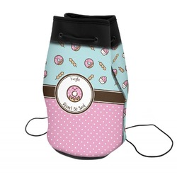 Donuts Neoprene Drawstring Backpack (Personalized)