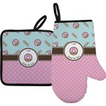 Donuts Oven Mitt & Pot Holder (Personalized)