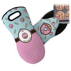Donuts Neoprene Oven Mitt (Personalized)